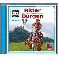 "WAS IST WAS ""FOLGE 04: RITTER/BURGEN""  CD HÖRBUCH NEU"