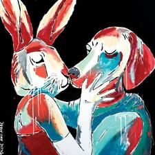 GILLIE AND MARC. Direct from artists. Limited Edition Art Print. Splash Pop Kiss