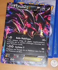 POKEMON RARE CARD HOLO CARTE JUMBO YVELTAL PV170 EX 79/146 VF FR FRANCAISE **