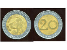 ALGERIE  ALGERIA 20 dinars  1999   ANM   ( bis )
