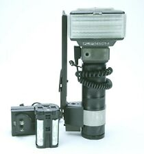 Metz 45CT-4 TTL Flash Complete With Battery & NiCd Clusters. STILL THE BEST. Ex.