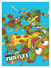 TMNT: Rise of the Turtles Variant by JJ Harrison - Mondo 18x24 Print - xx/125