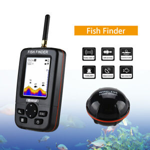 """2,8""""LCD Display Screen Fish Finder With Sonar Sensor for River Capturing Fishing"""