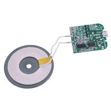 S6 diy Qi wireless charger PCBA circuit board with coil wireless charging usb_JH