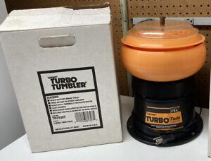 Lyman Turbo Twin Vibratory Case Tumbler - Orange and Black USA No. 7631327