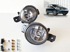 For 2008 2009 2010 Nissan Rogue Clear Lens Fog Driving Light Kit with Bulbs