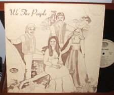 WE THE PEOPLE s/t LP PRIVATE HIPPIE FOLK CHICAGO