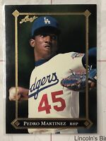 1992 Leaf Gold Rookies Los Angeles Dodgers Baseball Card #BC3 Pedro Martinez