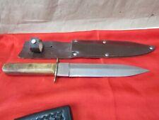 Evans Balfour Ww2 Wwii Fighting Knife With Sheath. X36