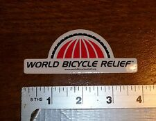 SRAM World Bicycle Relief Sticker Decal