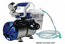 DENTAL VACUUM SUCTION UNIT HIGH VACUUM SUCTION/ALL IN 1/SELF CONTAINED!