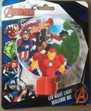 Marvel Superheroes Avengers LED Night Light W/switch