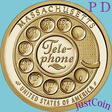 2020 P&D Set American Innovation Massachusetts Two Uncirculated Dollars Presale