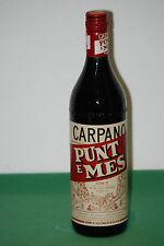 Carpano Punt e Mes - 1980s (100cl, 16%) Classic Vintage Vermouth Liqueur Full