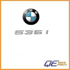 "BMW 535i 2011 2012 Genuine Emblem - ""535i"" for Trunk Lid 51147219540"