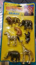 Circus Vargas Animals.  New In Package. 1983.