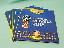 PANINI WM 2018 RUSSIA WORLD CUP Sticker 25 cartocci internazionale Edition