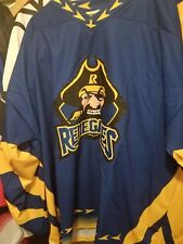 Nwot Richmond renegades Blue 3Xl Minor League Hockey Jersey Ak Great Colors and
