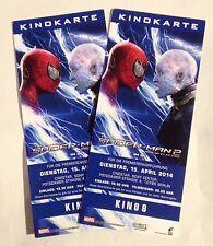 Zwei Original Kino Tickets Marvel Amazing Spiderman 2 Filmpremiere Berlin Karte