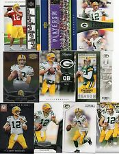 Aaron Rodgers (Green Bay Packers) 40 Card Lot W/ Rookies & Inserts