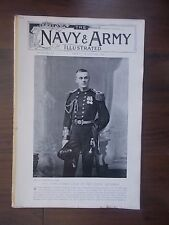 VINTAGE MAGAZINE THE NAVY & ARMY ILLUSTRATED VOLUME 1 No 6 MARCH 6th 1896