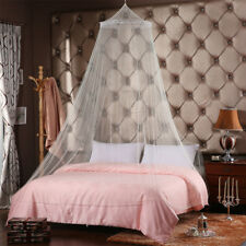 Single Entry White Mosquito Fly Canopy Net Netting For Single Double King Bed