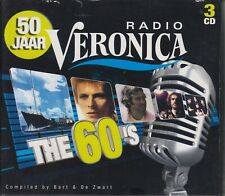 50 jaar Radio Veronica 3 CD Set The 60's incl: David Bowie, Bob Dylan, Zen 2010