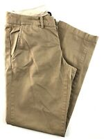 J.CREW City Fit Waverly Chino Brown Cotton Women's Pants Size 2