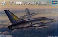 Trumpeter 1/48 F-100C Super Sabre # 02838