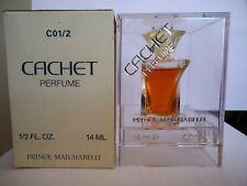 "VINTAGE RARE parfum ""CACHET PRINCE MATCHABELLY"", e 14 ml, 1/2 fl.oz.,PURE PARFUM"