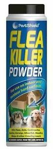 FLEA KILLER POWDER 200G ANTS COCKROACHES BEETLES EARWIGS WOODLICE WASPS INSECTS