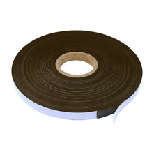 Strong Magnetic Self Adhesive Tape Cut Strip Pieces 13mm