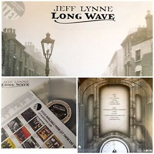 Jeff LYNNE LONGWAVE  CLEAR VINYL  -Rare  Only 1000 Released-SEALED