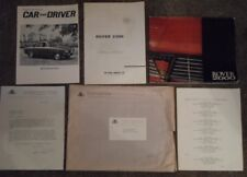 ROVER 2000 orig 1965 USA Mkt Sales Brochure Literature Pack with OME - Nice!