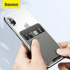 Baseus Universal Phone Back Wallet Card Slots Case For iPhone 11Pro X XS Max XR