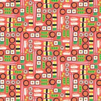 Fabric Japanese Sushi Timeless Treasures Cotton 1/4 yard 7752