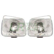 LAND ROVER DISCOVERY 1 200TDI NEW FRONT HEADLIGHTS LAMPS PAIR UK RHD (1989-1994)