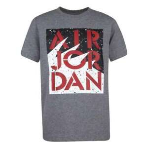 Air Jordan T Shirt Big Boys Medium or Large New AJ5 Stencil Stack Graphic Tee