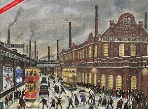 George Cunningham - Tinsley at Christmas - Sheffield - Print - NEW LISTING