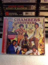 The Chambers Brothers Time CD Priceless Collection Rare Soul Time Has Come Today