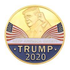 Trump National Flag Gold Plated Commemorative Coin Souvenir Collection Gift /Neu