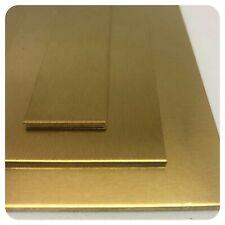 Messingblech 1mm bis 2mm Ms 63 (CuZn37) Blech Platten Streifen nach Zuschnitt
