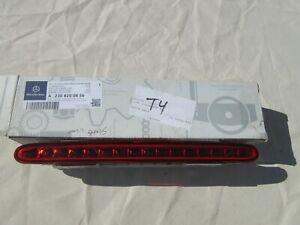 03-13 Mercedes-Benz R230 Trunk 3rd Center Brake Light Stop Lamp SL500 SL55AMG PB