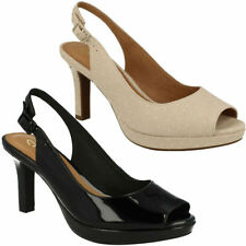 Clarks Plus Size Slim Heels for Women