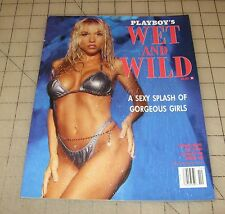 Playboy's WET AND WILD (Oct 1996) Special Edition Magazine in GD+ Condition