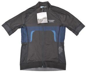 Pas Normal Studios Women Mechanism Short Sleeve Jersey MEDIUM Black Road Bike