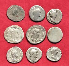 Lot of 9 Ancient Roman Silver Denarius #3