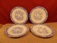 """Deutschland Blau China Set of 4 Salad/Bread Plates 6 7/8"""""""