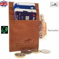 RFID Secure Real Leather Slim Card Holder/Wallet/Purse £ 15.00 UK