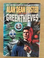 Greenthieves, Hardcover, dust jacket, Alan Dean Foster, 1990s science fiction